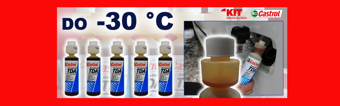 Aditiv protiv smrzavanja dizel goriva CASTROL TDA