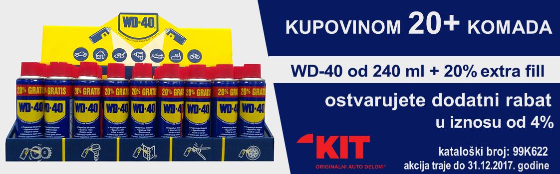 AKCIJA: WD-40 od 240 ml + 20% extra fill