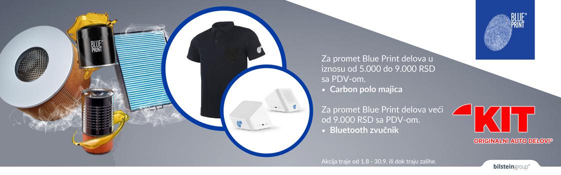 KIT – Blue Print akcija