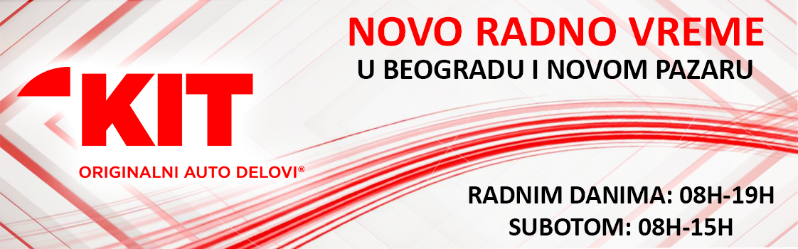 NOVO RADNO VREME u Beogradu i Novom Pazaru