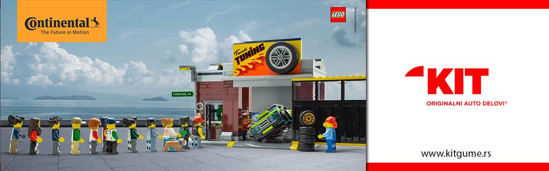 Letnja Continental LEGO akcija